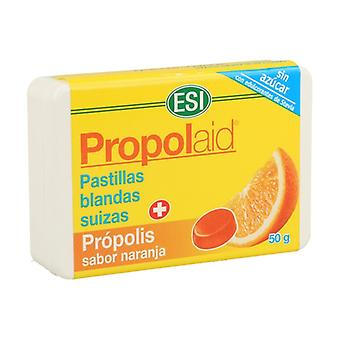 Propolaid Orange Flavored Propolis Soft Pills 50 g (Orange)