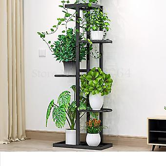 Multilayer Rack Green Dill & Flower Shelf Nordic Indoor Home Balcony Decoration