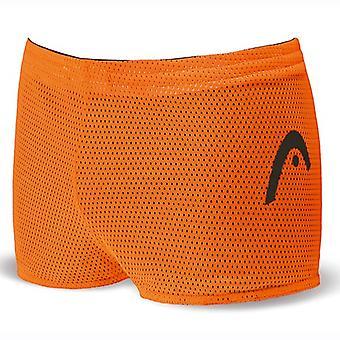 Head Unisex Double Power Reversible Drag Shorts - Black/Orange