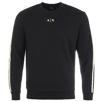 Armani Exchange Sustainable Sweatshirt - Black