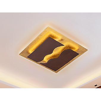 Integrierte LED Flush Deckenleuchte, Rost, Golden Bread,