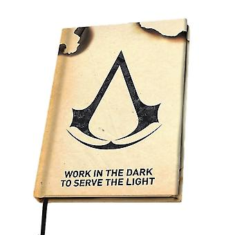 Assassin's Creed Crest A5 Hardback Notebook
