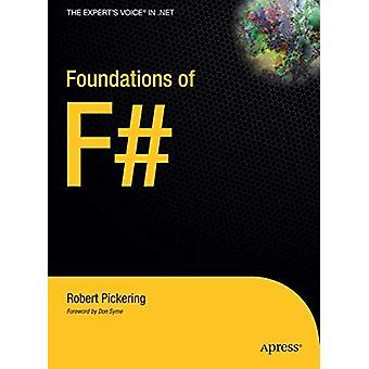 Foundations of F# par Robert Pickering - 9781484220368 Livre