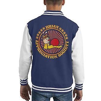 The Magic Roundabout Brian Appreciation Society Kid's Varsity Jacket