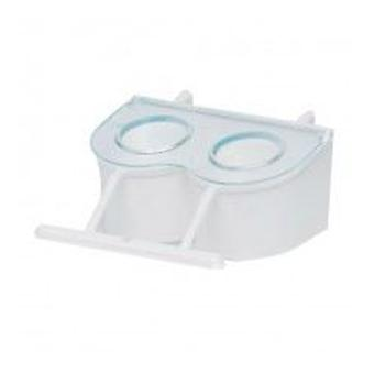 Mgz Alamber Trough Cover Hook Blue (Birds , Feeders & Water Dispensers , For Cages)