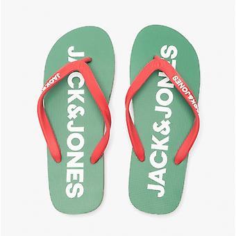 Jack & Jones Logo Pop Miesten Kumi Flip Flops Amazon