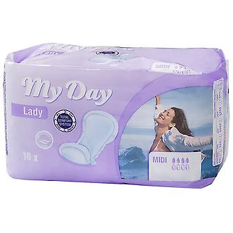 My Day Incontinence Compresses Super 10 uds