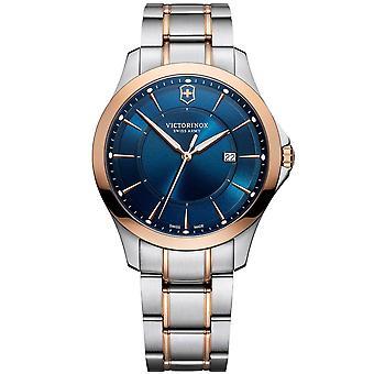 Victorinox Swiss Army 241911 Alliance Blue Two Tone Mens Watch