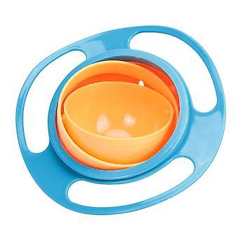 Tazón a prueba de fugas giratorio para bebés, vajilla para platos de alimentación para bebés