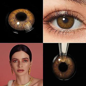 Väri piilolinssit silmien värillinen kauneus