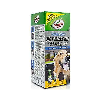 Cleaner kit Turtle Wax TW53055 Power Out Pet Mess (3 pcs)