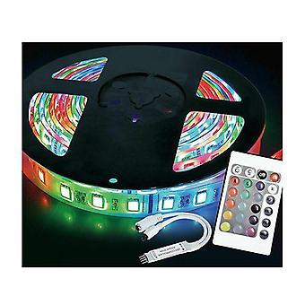 Monivärinen Led 5050 Smd Vedenpitävä Joustava Led Strip Light Kit