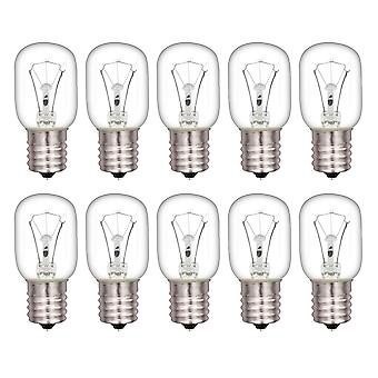 10x Transparent 8206232A Light Bulb Microwave Oven Accessories 40W 125V