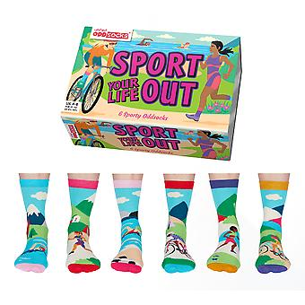 United Oddsocks Sporty Oddsocks