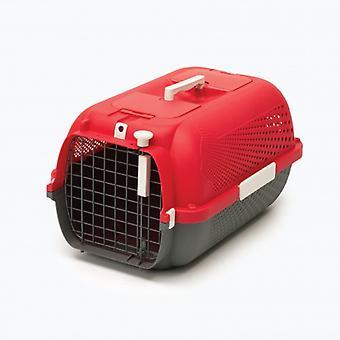 מוביל פרופיל Catit - אדום דובדבן M (חתולים, תחבורה ונסיעות, מובילי תחבורה)
