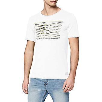 Q/S designed by T-Shirt Kurzarm, White (0100 Pure White), S Man