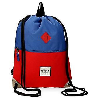 Pepe Jeans Dany Backpack bag with zipper Blue 35x46 cms Polyester
