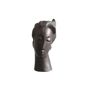 抽象的な顔の形の花瓶
