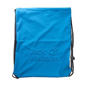 Jack Wolfskin Back Spin Logo Sport Gymsack Axelväska Blå