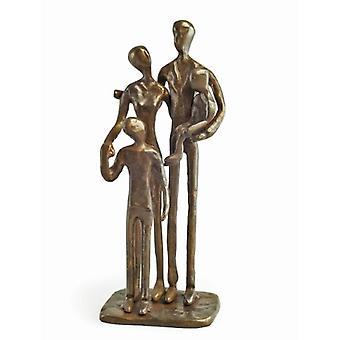Family Of Four Bronze