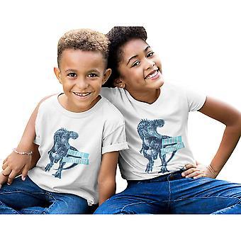 Popgear Boys Still Hungry Velociraptor T-Shirt