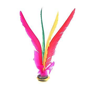 Feather Shuttlecock Foot Kick Hand Wheel Fancy Goose Feather Shuttlecock