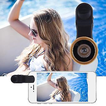 180 stopni Fisheye Uniwersalny obiektyw clip szeroki kąt do telefonów komórkowych Aparat fotograficzny