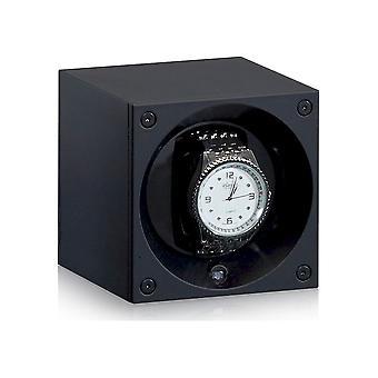 Suíço Kubik - Cronador de relógios - Masterbox Aluminium - preto - SK01. AE001