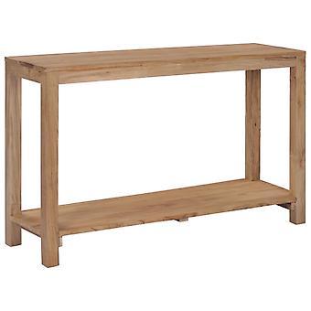 vidaXL konsolbord 120×35×75 cm teak massivt trä