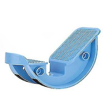 Estiramento do tendão de Aquiles doméstico, relaxante muscular da panturrilha (Azul)