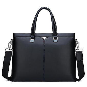 الرجال لينة حقيبة يد جلدية الكتف حقيبة الأعمال بو حقيبة