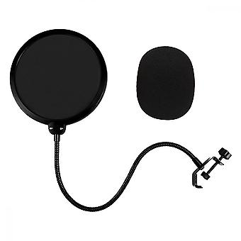 Double Layer Microphone Pop Filter