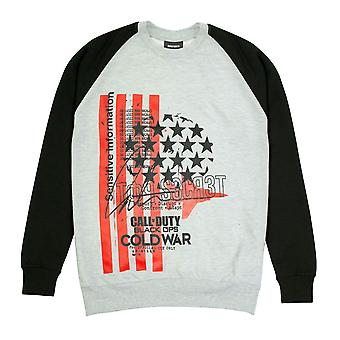 Womens Call Of Duty Jumper Black Ops Cold War Stars And Stripes Officiële