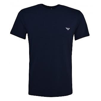EA7 Emporio Armani Miesten Alusvaatteet Laivasto T-paita