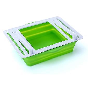 Drawer Refrigerator Storage Box Foldable Storage Organizer Food Box Kitchen Fresh-keeping Storage