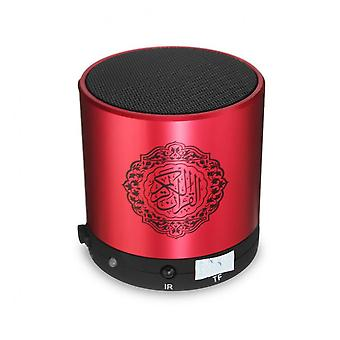 Sq-200 Universal Portable Fm Radio Tf Card Usb Speaker Music Subwoofer For Mobile Phone Tablet Red Color