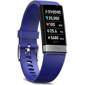 Monitore a pressão arterial rastreador de atividade de aptidão da pressão arterial com lembrete baixo de O2, IP68 impermeável