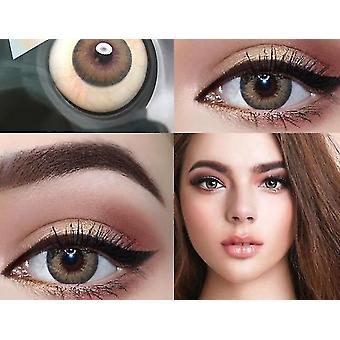 Lentes de contato coloridas para olho