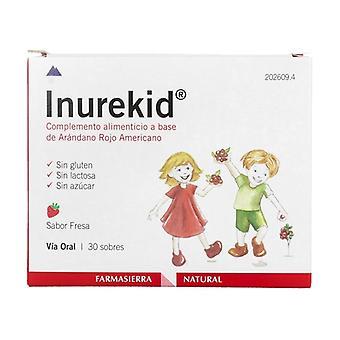 Inurekid 30 packets of 2g (Strawberry)