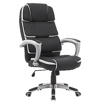 Office Chair Upholstered Chair Office Chair Home comfortable office  Chair Ergonomic Swivel Black Desk Office Chair