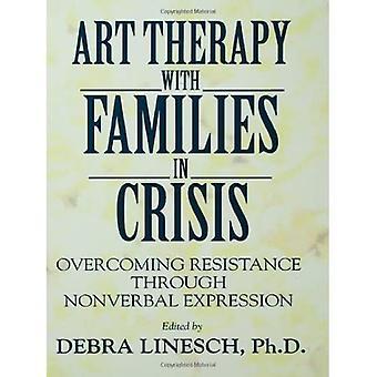 Art-thérapie avec des familles en crise: surmonter la résistance par l'expression non verbale