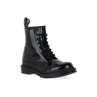 Dr martens 1460 mono black patent lamper boots / boots