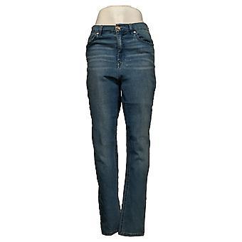 DG2 by Diane Gilman Dames Jeans Virtual Stretch Skinny Blue 560464