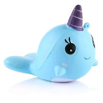 Squeeze Toy Toy Gift- Blue Whale