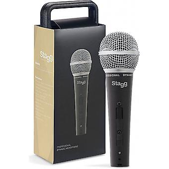 Stagg Professional Cardioid Dynamic Microphone (SDM50)