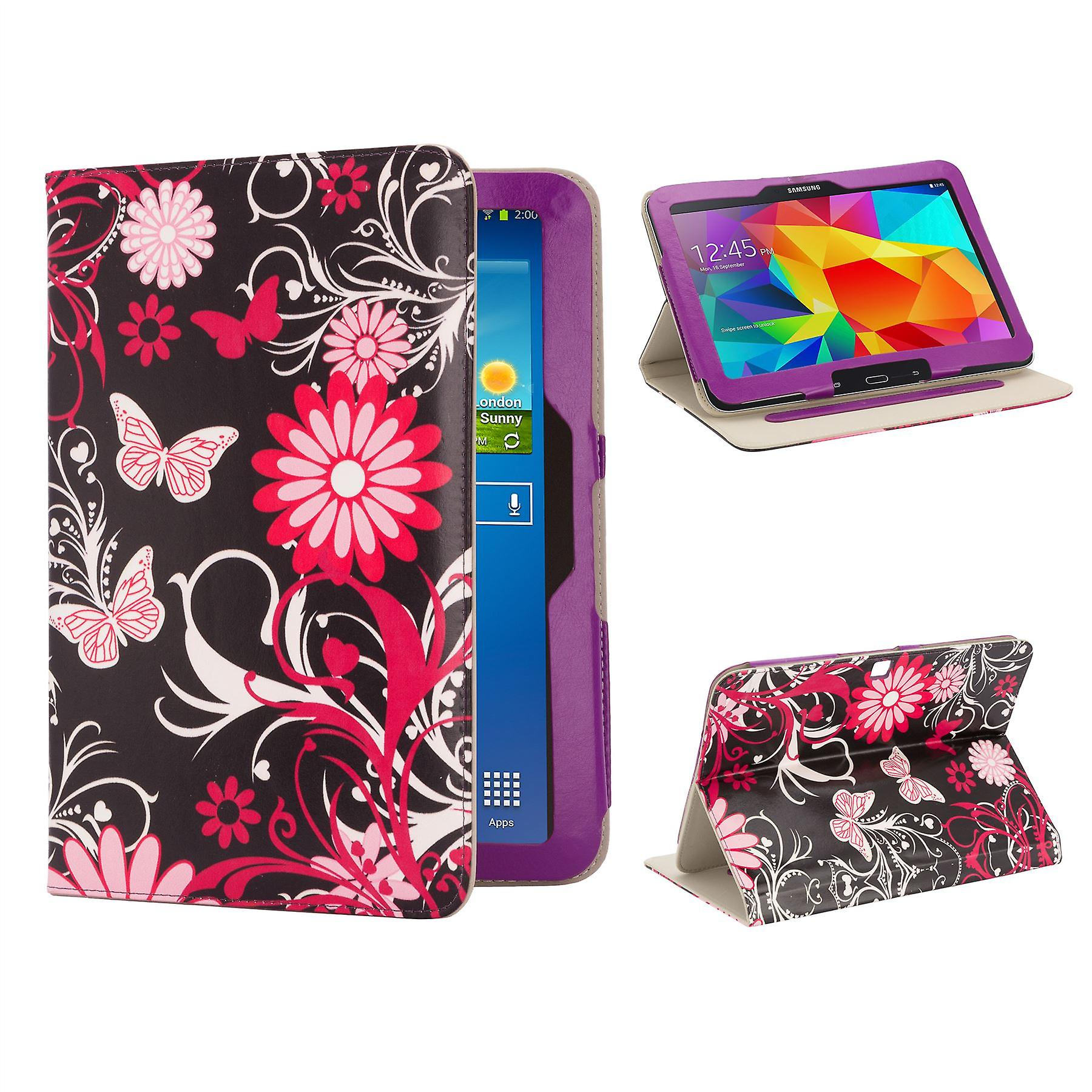 Design Book Leather Case Cover For Samsung Galaxy Tab 3, 8.0
