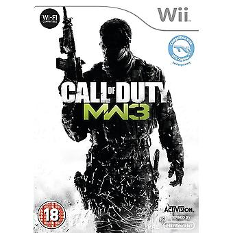 Call of Duty Modern Warfare 3 Nintendo Wii Game