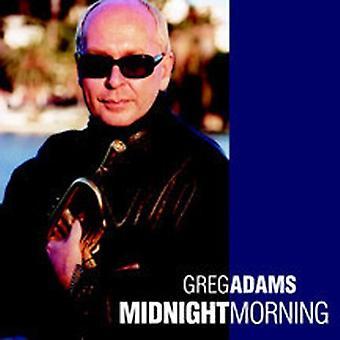Greg Adams - Midnight Morning [CD] USA import