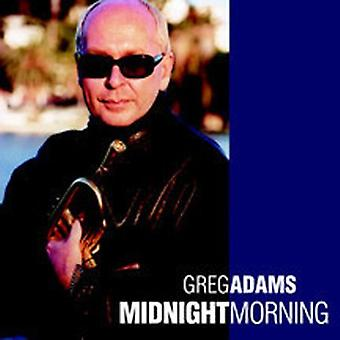 Greg Adams - importation USA matin minuit [CD]