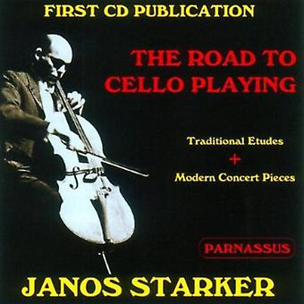 Janos Starker - The Road to Cello Playing [CD] USA import